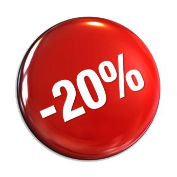20% KEDVEZMÉNY!